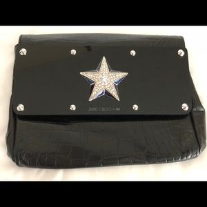 Jimmy Choo for H&M Large Star Studded Clutch